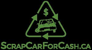 logo for scrapcarforcash.ca